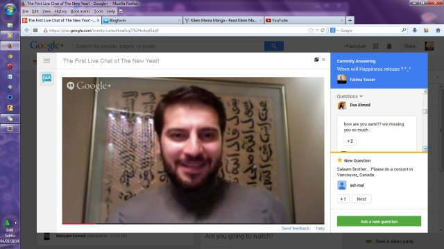 live chat with sami